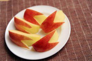 りんごのカット